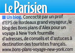 article le parisien décembre 2012