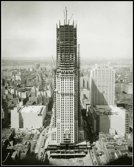 Construction of the Empire State, 1929-1931 (5)