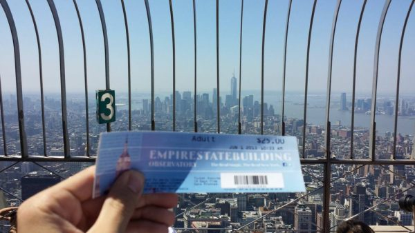 ticket Empire state building