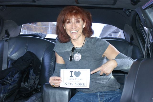 Rita dans une limousine - Novembre 2010