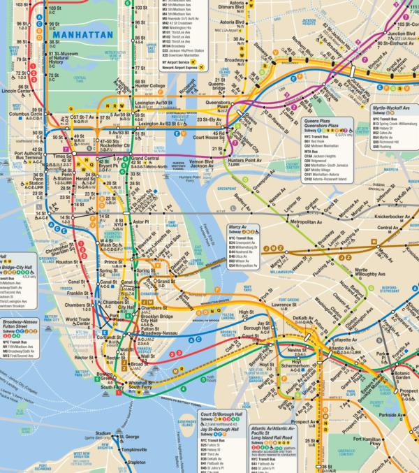 Les Bons Plans Pour Un Voyage 224 New Yorkle Bus Et Le M 233 Tro