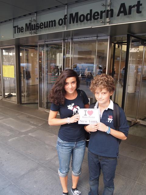 Elise et Paul au MoMa - Août 2011