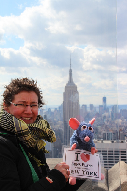 Mag au Top of the Rock avec Ratatouille - Février 2012