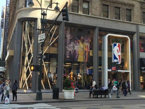 NBA store Mika