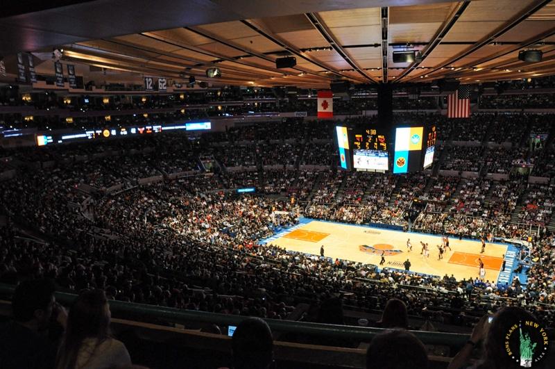 Aller Voir Un Match De Nba Nhl Ou Un Concert Au Madison Square Garden