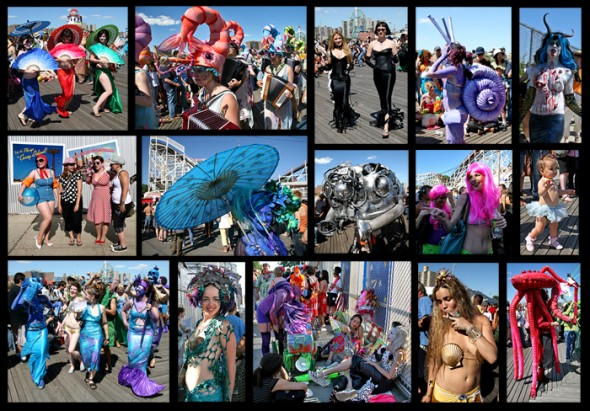 Mermaid Parade coney island nyc