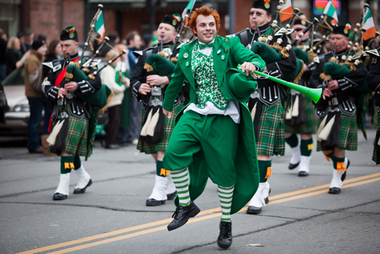 St-Patrick- day Parade-New-York