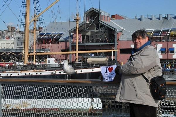 Michel vers Pier 17 - Décembre 2012