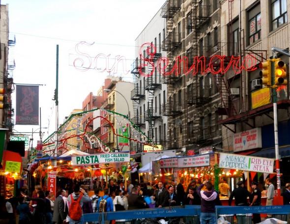 Festival de San Gennaro new york