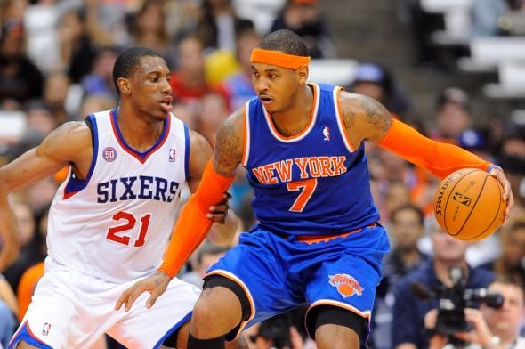 NBA: Preseason-New York Knicks at Philadelphia 76ers