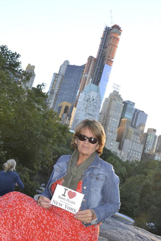 Sophie à Central Park - Septembre 2012