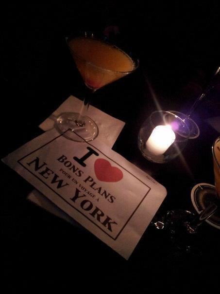 Dédicace d'Annabelle au Bubble Lounge lors de l'apéro BPVNY - Mars 2013