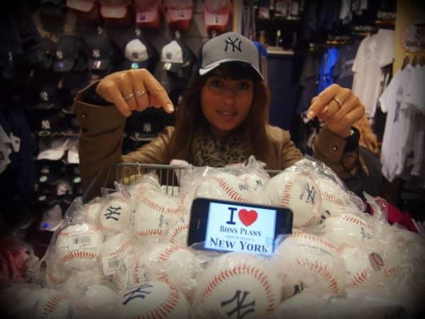 Mélanie & les NY Yankees - Mai 2013