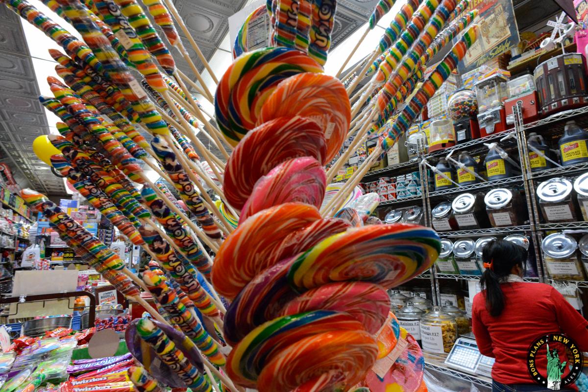 ... New York, il faut aller à Economy Candy du côté du Lower East Side Lowereastside