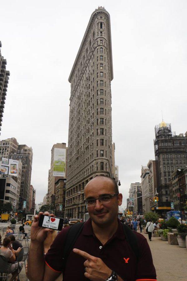 Anthony Calone au Flatiron Building - Juillet 2013