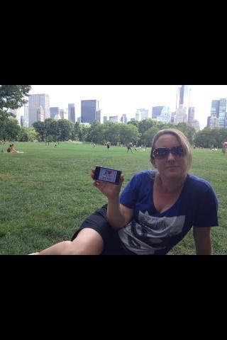 Kro Lyn en plein Central Park - Juillet 2013