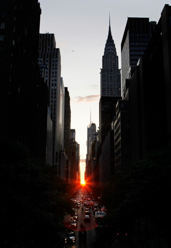manhattanhenge new york city