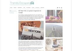 interview Trendy Escapes go new york alexandre vende  novembre 2015