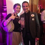 Golden Blog Awards - Avec ma supportrice, Sarah de Chroniques de Frenchie