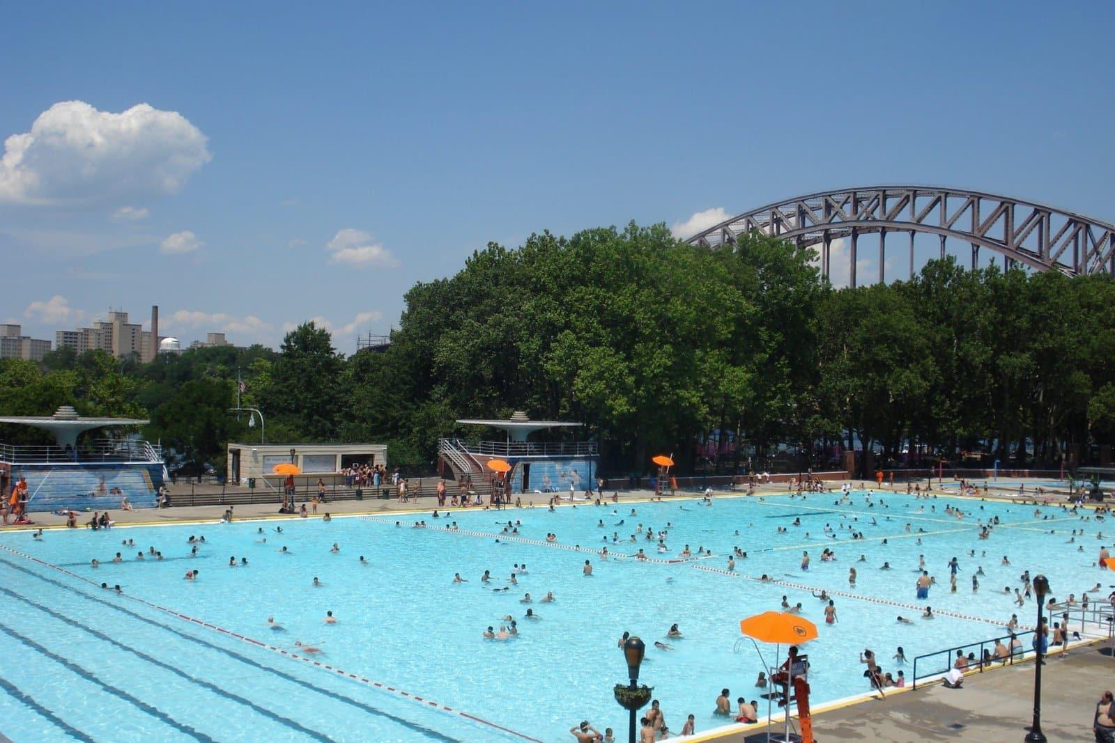 toutes les piscines de new york publiques en ext rieur et