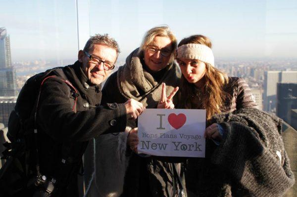 Frank et sa petite famille pour une dédicace au Top of the Rock - Samedi 28 Décembre 2013