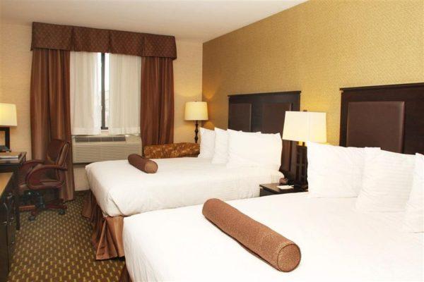 Best Western York Pavilion Hotel Standard Double Room