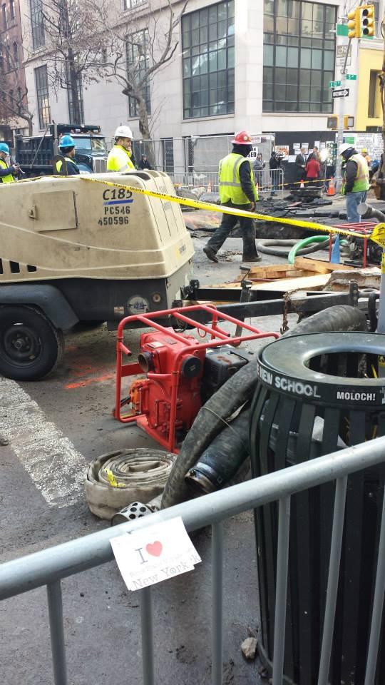 Dédicace de Smain dans un chantier de NYC - Janvier 2014