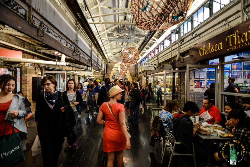 Restaurants Chelsea Market New York