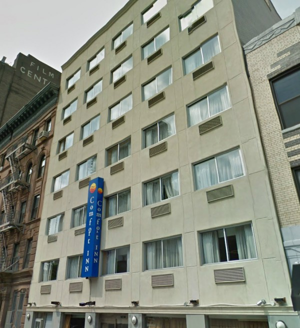 L 39 h tel comfort inn times square west bons plans new york for Hotel bon plan