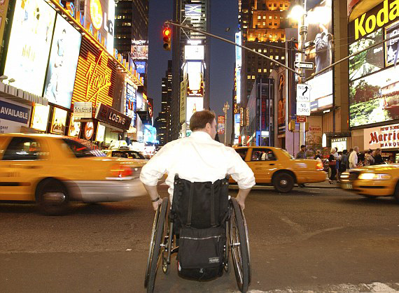 fauteuil roulant new york