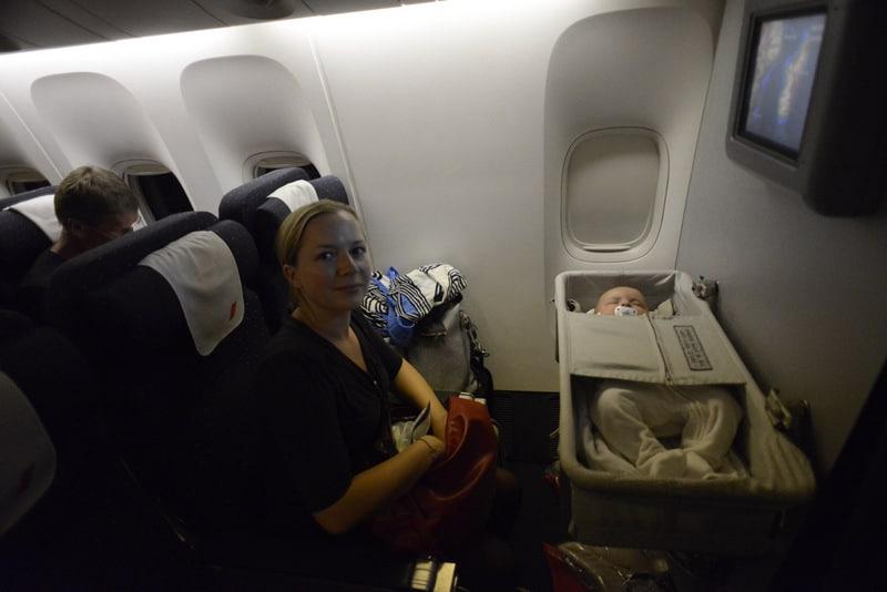 Si vous décidez de partir à new york avec votre bébé vous allez