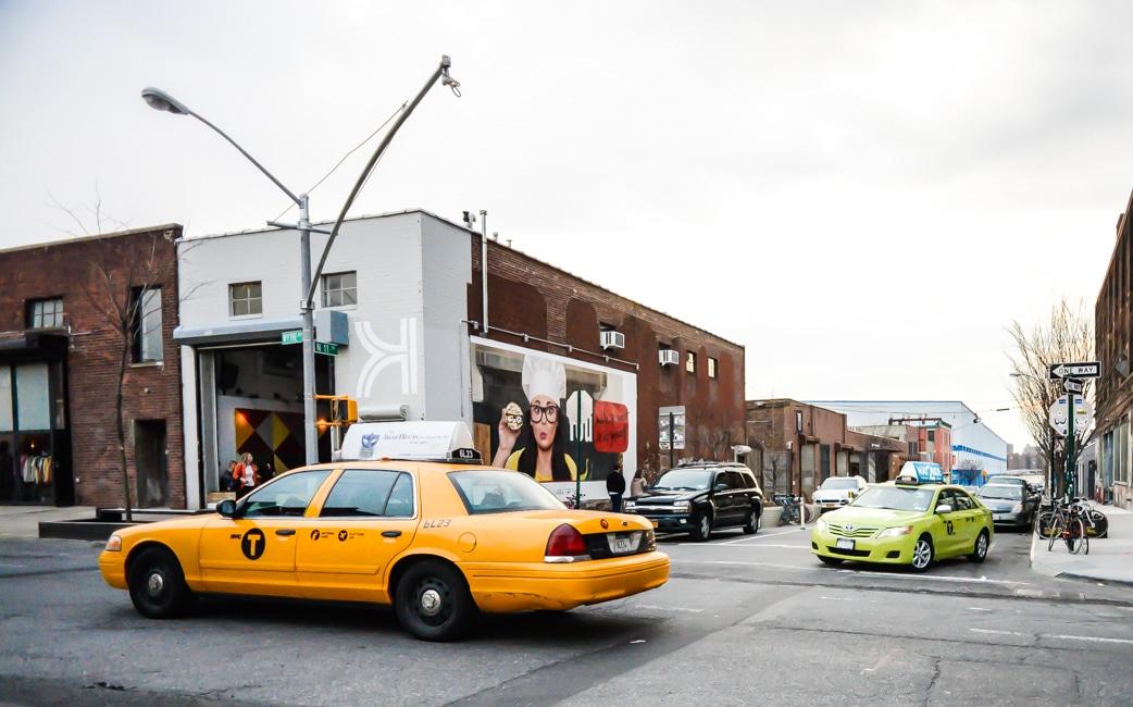 New York a maintenant son taxi vert  le Boro Taxi