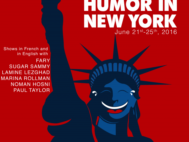 affiche French Comedy Festival