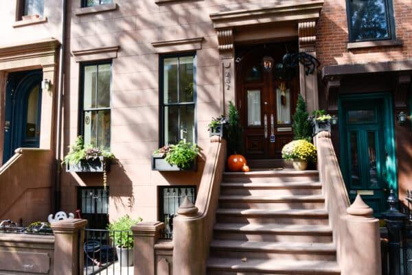 visite guidee decorations halloween new york brooklyn maison