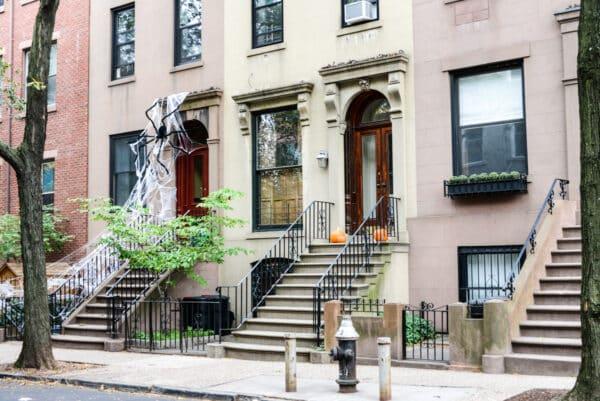 visite guidee decorations halloween new york araignee geante