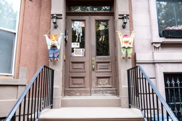 visite guidee decorations halloween new york porte