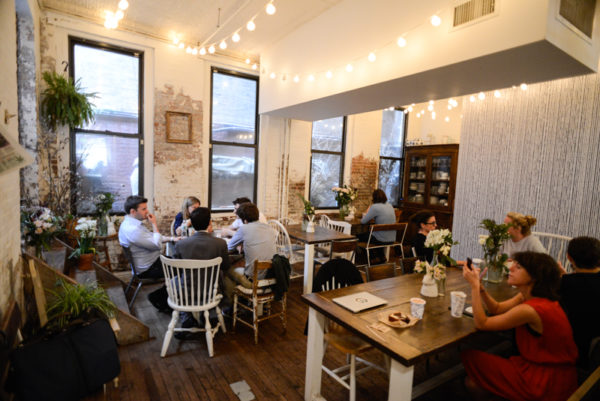 coffee shop Maman new york deco