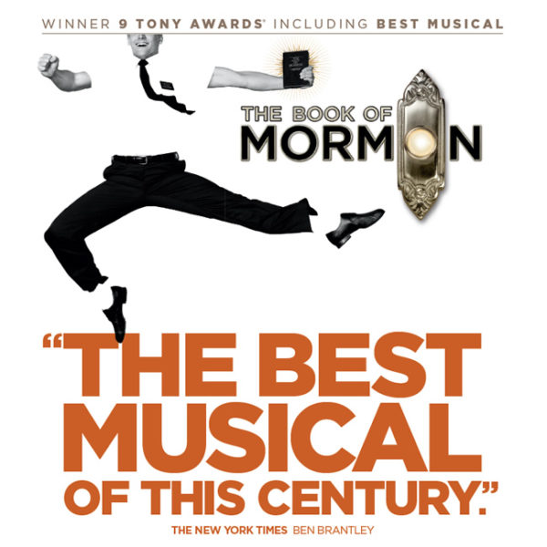 The Book of the Mormon broadway