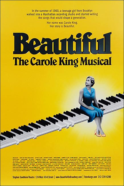 Beautiful, The Carole King Musical broadway