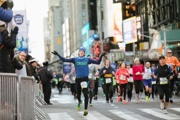 semi-marathon new york half arrivée