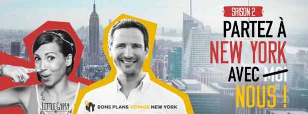 Partez à New York avec nous !