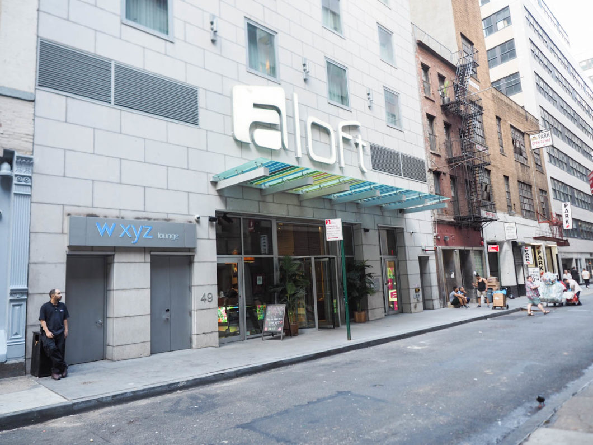 s journez au c ur du district financier l h tel aloft manhattan downtown. Black Bedroom Furniture Sets. Home Design Ideas