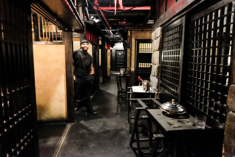Ninja le restaurant village japonais de new york