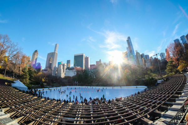 Patinoire Wollman central park