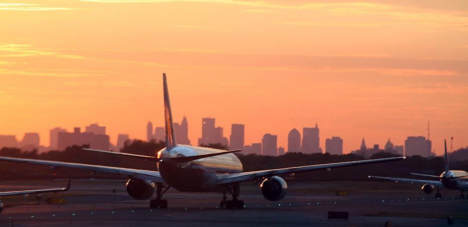 avion new york skyline