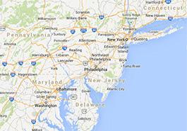 Carte New York Et Alentours.Les Bons Plans Pour Un Voyage A New York