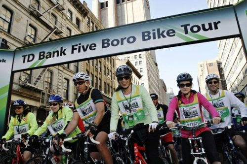 TD Five Boro Bike 2014 NY