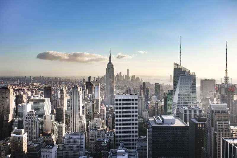 Quand monter l 39 empire state building et au top of the for Building sans fenetre new york