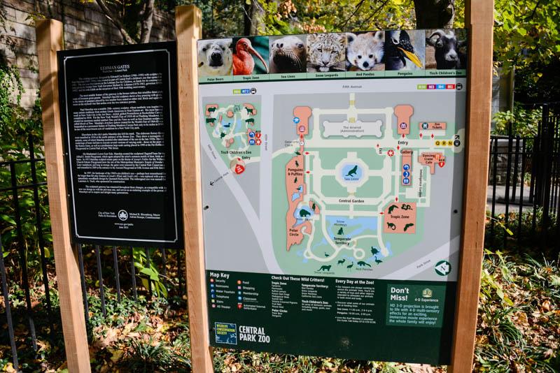 entrée zoo central park