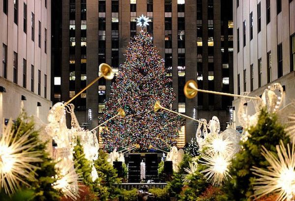 Date decoration de noel a new york